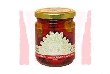 ciraselli ripieni in extra virgin olive oil preserved food pickles belfiore masseria mirogallo farm basilicata lucanian