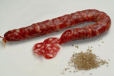 sausage aviglianese salami cold cuts pork marni salumi basilicata lucanian