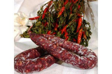 spicy salami salami cold cuts pork marni salumi basilicata lucanian
