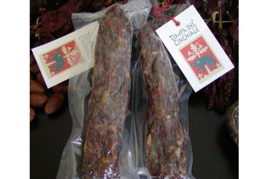 artisanal soppressata salami cold cuts pork timpa del cinghiale basilicata lucanian