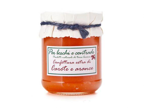 carrots and oranges jam carrots and orange marmalade boschi e contrade italian jam italian marmalade basilicata lucanian