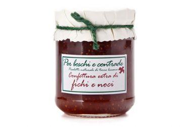 confettura extra di fichi e noci marmellata di fichi e noci boschi e contrade confettura italiana marmellata italiana basilicata lucania