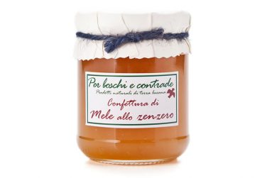 apple and ginger jam apple and ginger marmalade boschi e contrade italian jam italian marmalade basilicata lucanian
