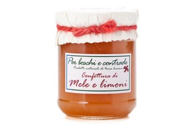 apple and lemon jam apple and lemon marmalade boschi e contrade italian jam italian marmalade basilicata lucanian