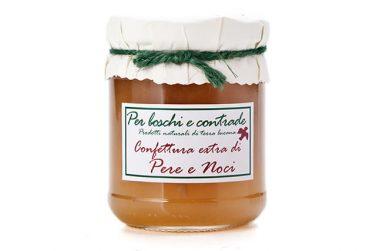 pears and walnuts jam pears and walnuts marmalade boschi e contrade italian jam italian marmalade basilicata lucanian