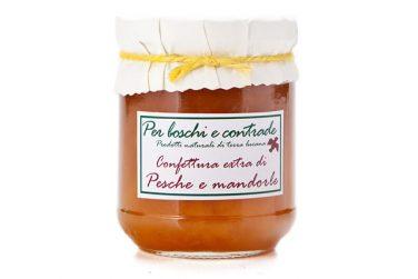 peach and almonds jam peach and lavender marmalade boschi e contrade italian jam italian marmalade basilicata lucanian
