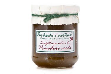 confettura extra di pomodori verdi marmellata di pomodori verdi boschi e contrade confettura italiana marmellata italiana basilicata lucania