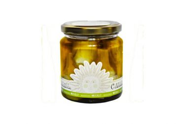 artichokes in extra virgin olive oil preserved food pickles belfiore masseria mirogallo farm basilicata lucanian