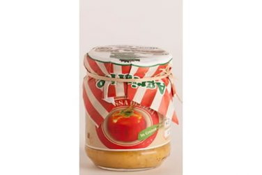 la rossa delizia in crema a base di melanzana rossa dop conserve sott'olio azienda agricola rossato sira basilicata lucania